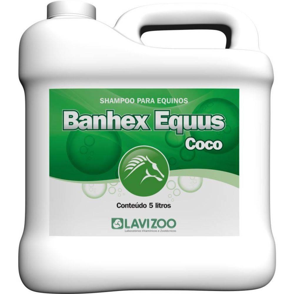 SHAMPOO BANHEX EQUUS COCO 5LT