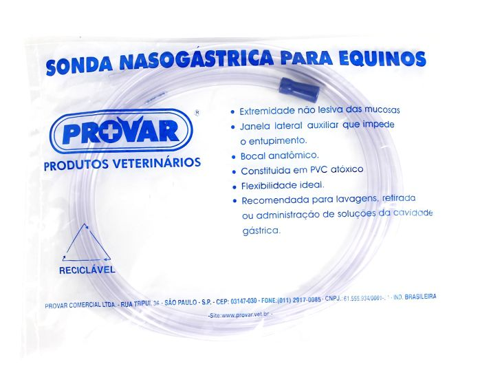 SONDA NASOGASTRICA EQUINOS 17MM