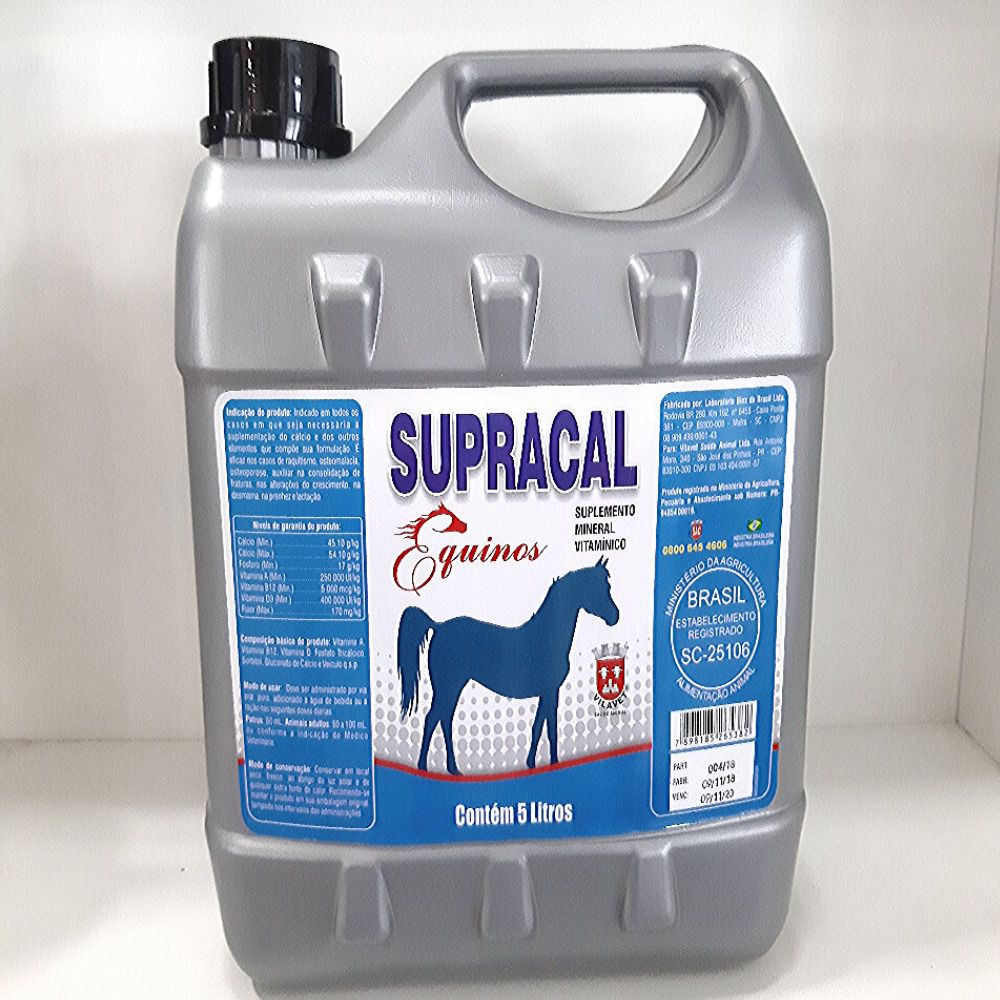 SUPRACAL EQUINOS 5LT