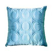 Almofada ALIANCE azul tiffany 40x40