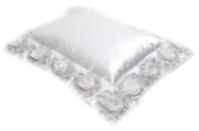 Almofada BRIDE cetim off white 45x55