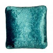 Almofada VELUDO azul turquesa