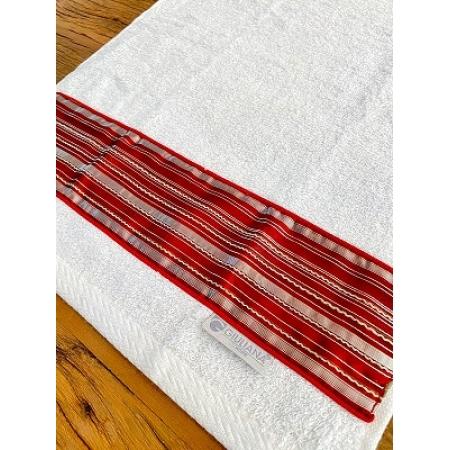 Toalha Lavabo CLASSIC vermelha