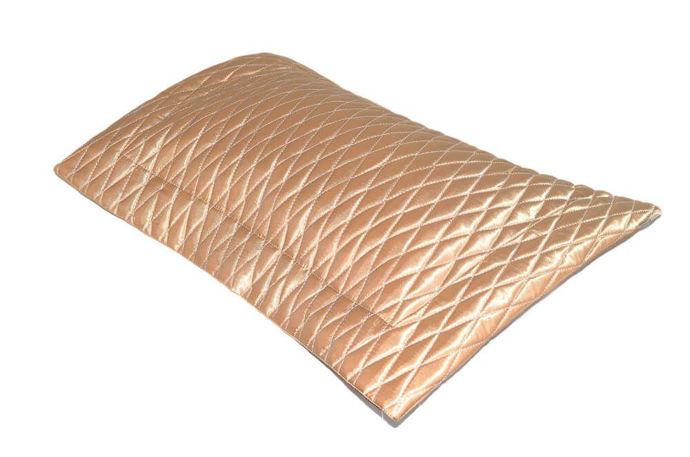 Almofada Cetim Dourada 45X55