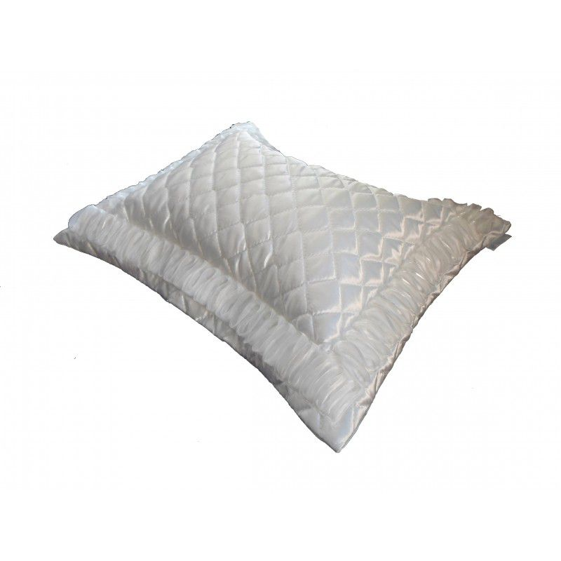 Almofada FITILHO cetim off white 45x55