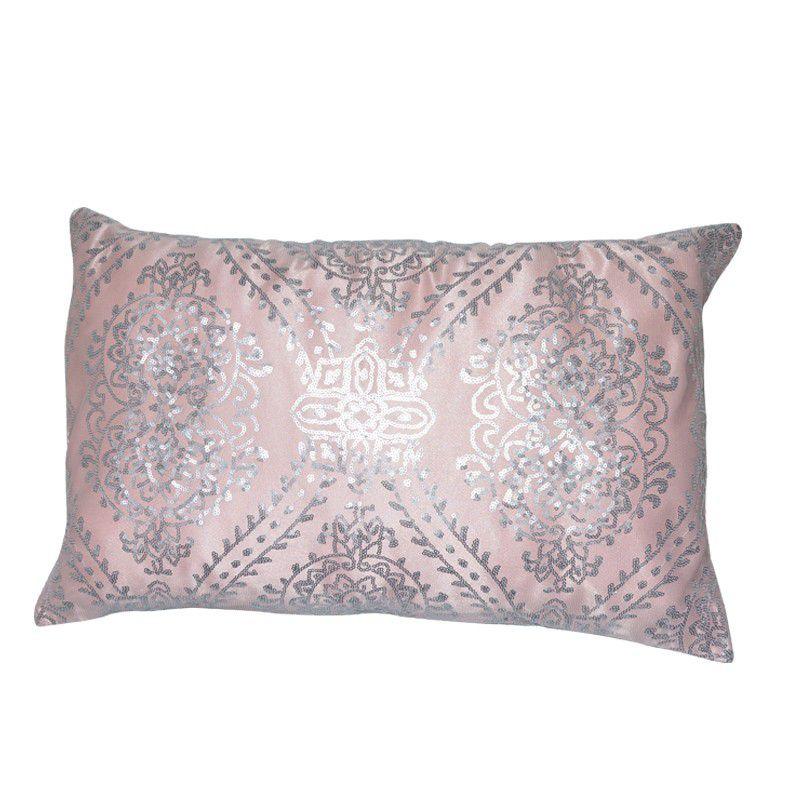 Almofada Glamour Paetê Rosa Antigo 40X50