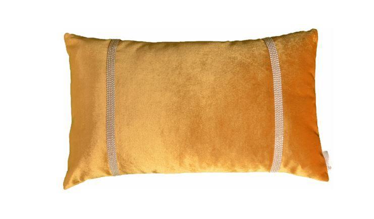 Almofada LAS VEGAS velvet ouro 30x50