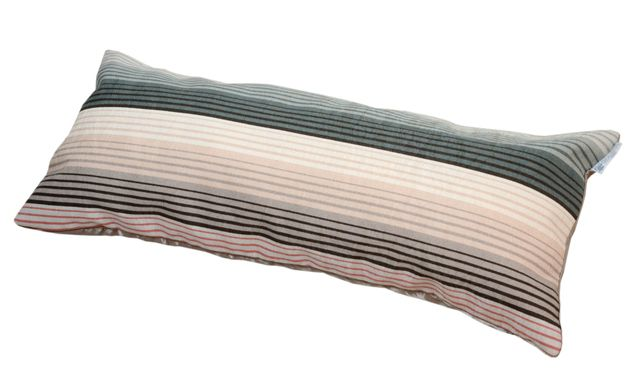 Almofada LISTRADA celadon/marfim 30x60