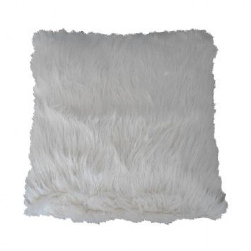 Almofada PELE 12 branca 45x45