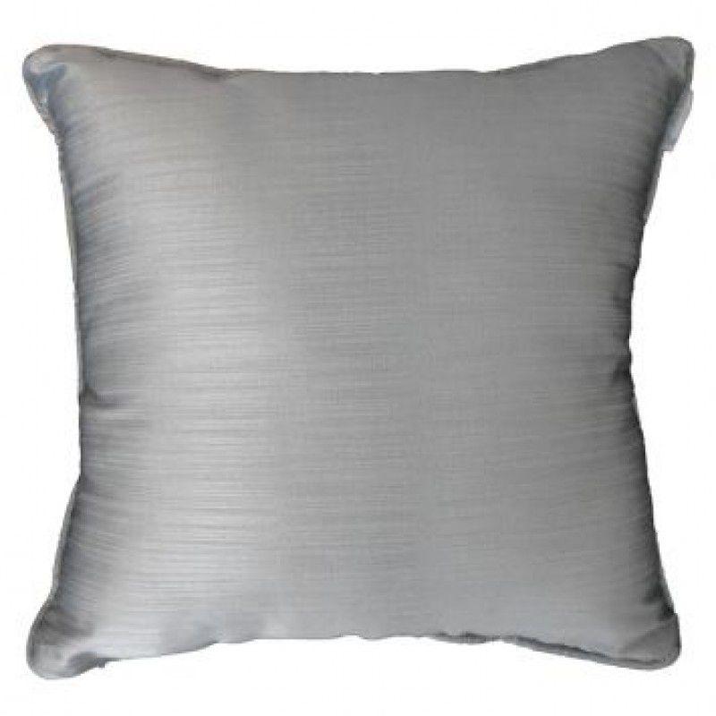 Almofada SHANTOUNG prata 40x40