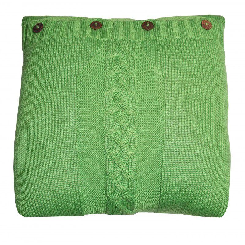 Almofada TRICOT verde 40x40
