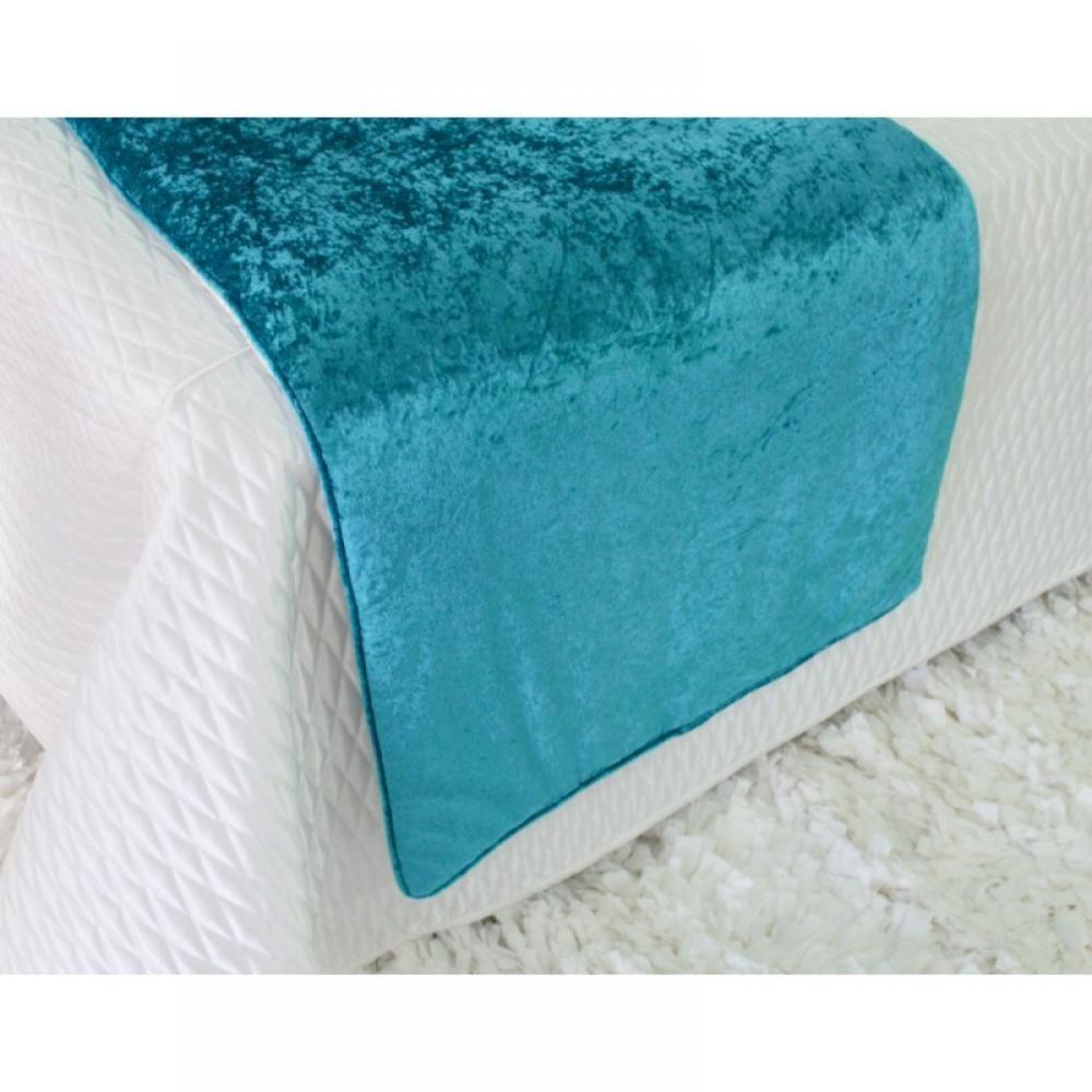 Pezeira VELUDO azul turquesa 70x260