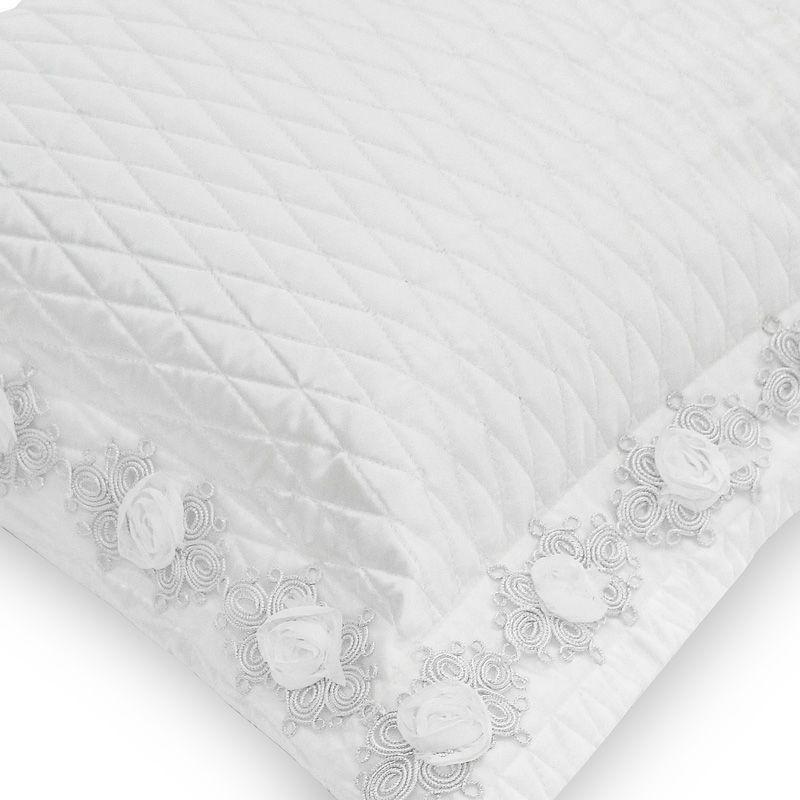 Porta Travesseiro BRIDE off white 50x70
