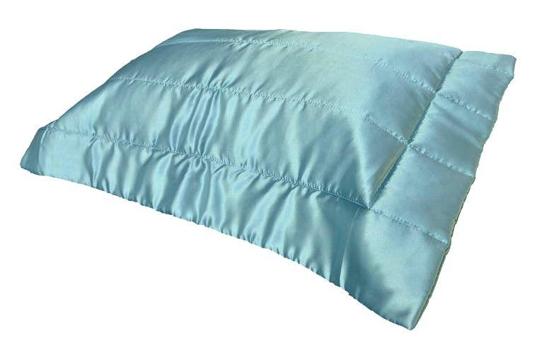 Porta Travesseiro Cetim Azul Tiffany 50x70