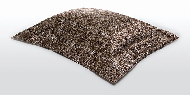 Porta Travesseiro CETIM Oncinha 50x70
