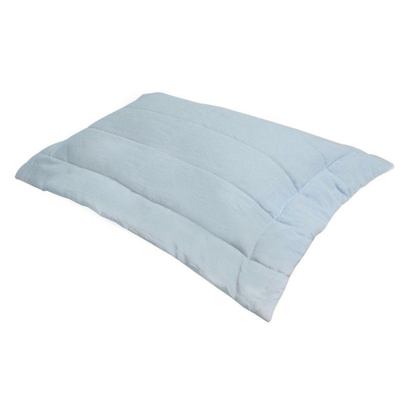 Porta Travesseiro LINHO 50x70 azul claro