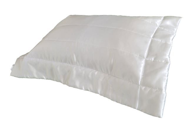 Porta Travesseiro Listrado Off White 50x70