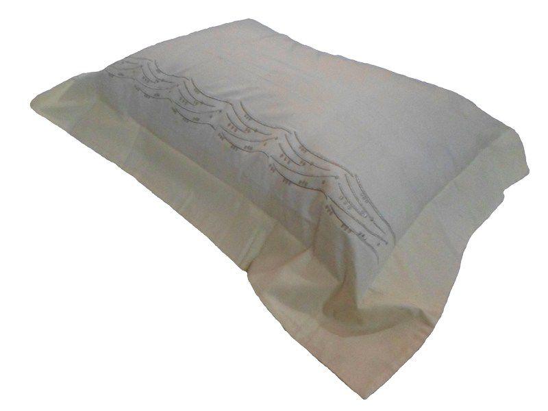 Porta Travesseiro LUMINATA Marfim 50x70