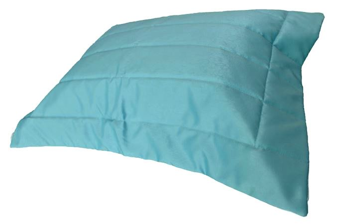 Porta Travesseiro SILK Azul Tiffany 50x70