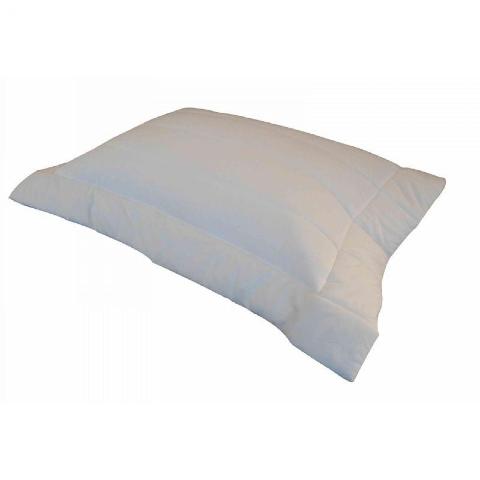Porta Travesseiro SUEDE Off White 50x70