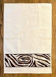 Toalha Lavabo ÁFRICA marfim
