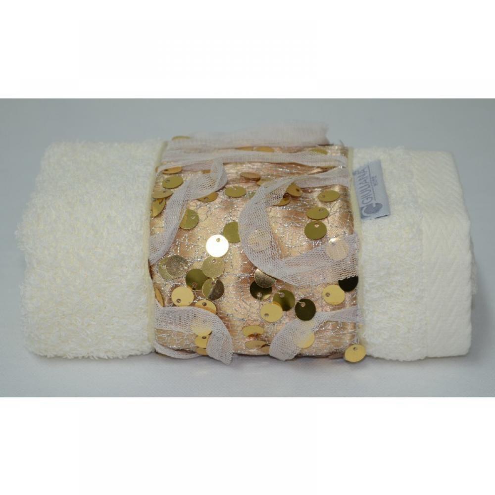 Toalha Lavabo GLAMOUR dourada