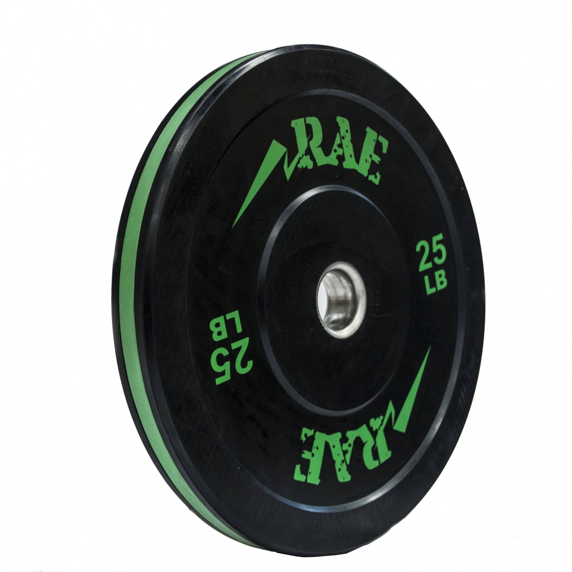 Anilha Olímpica Bumper Seminova - Rae Action 25 lb - Rae Fitness