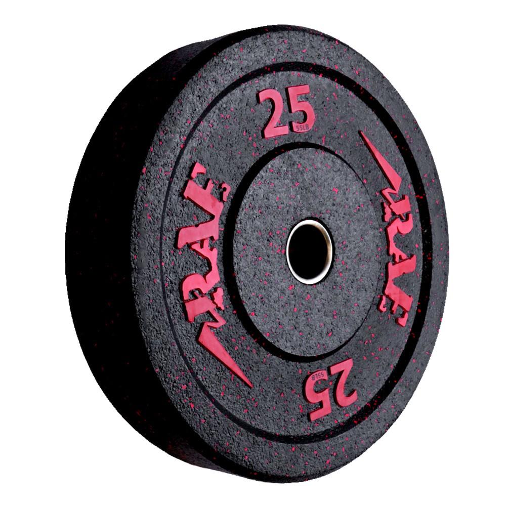 Anilha Olímpica Bumper - Hi-temp 25 kg - Rae Fitness