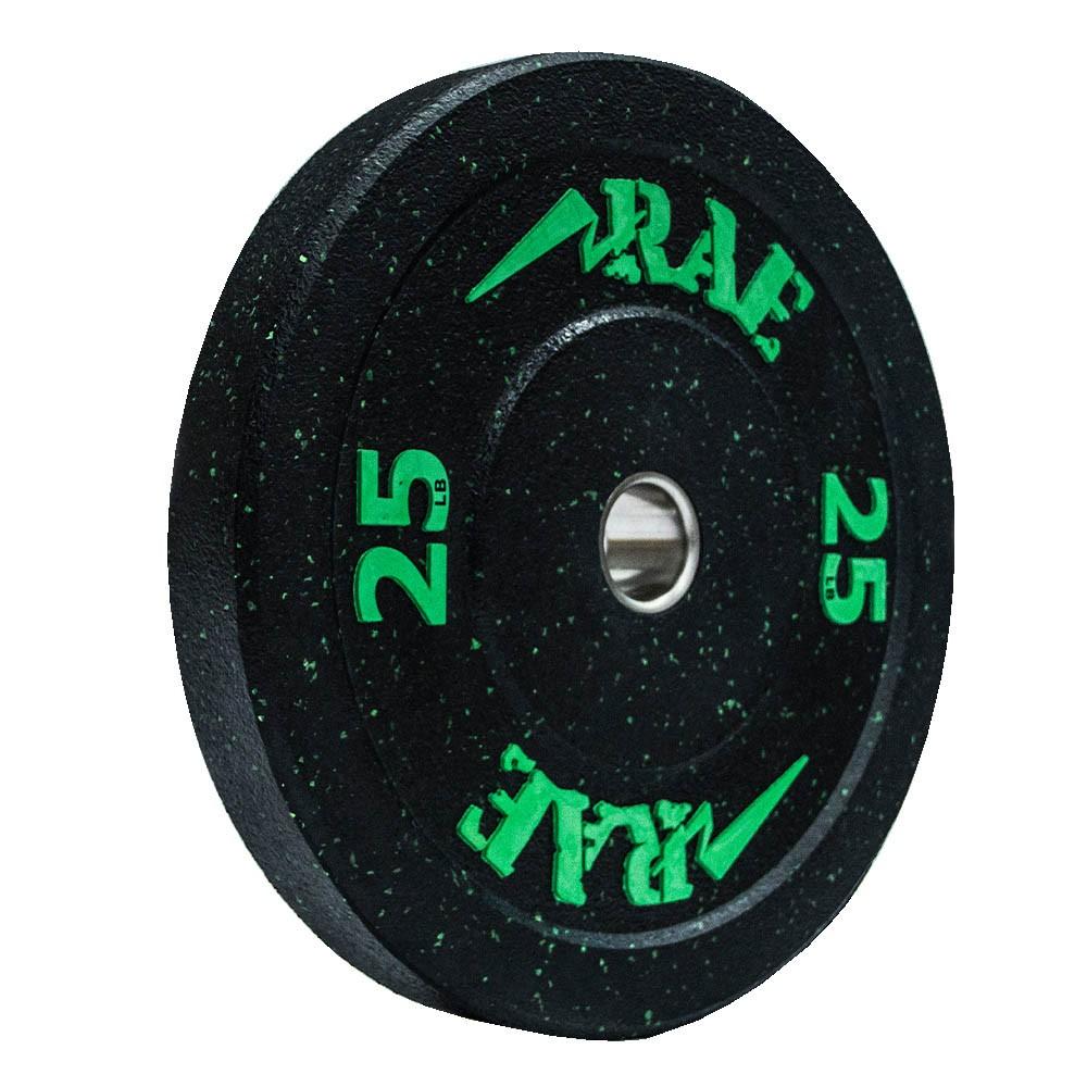 Anilha Olímpica Bumper - Hi-temp 25 lb - Rae Fitness