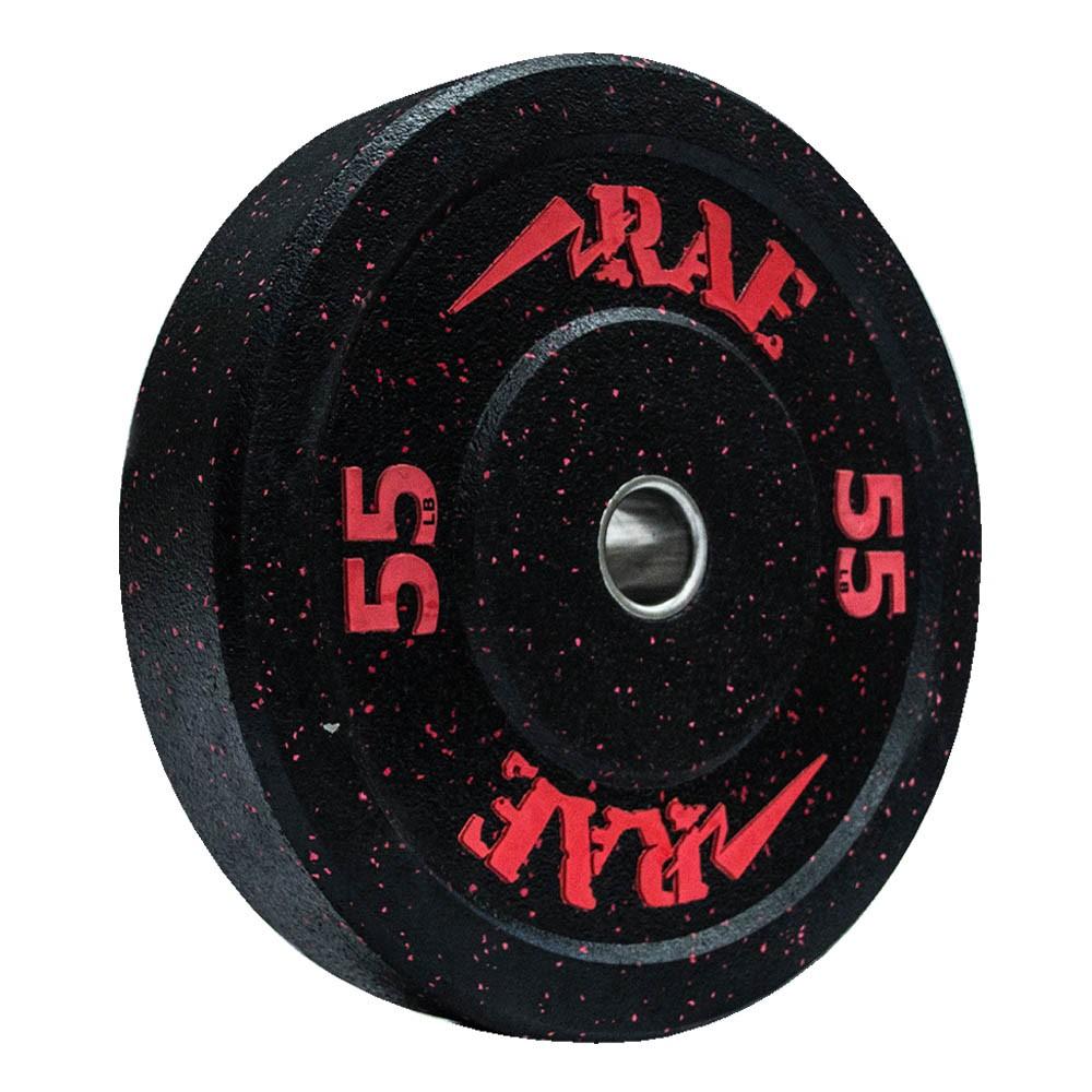 Anilha Olímpica Bumper - Hi-temp 55 lb - Rae Fitness