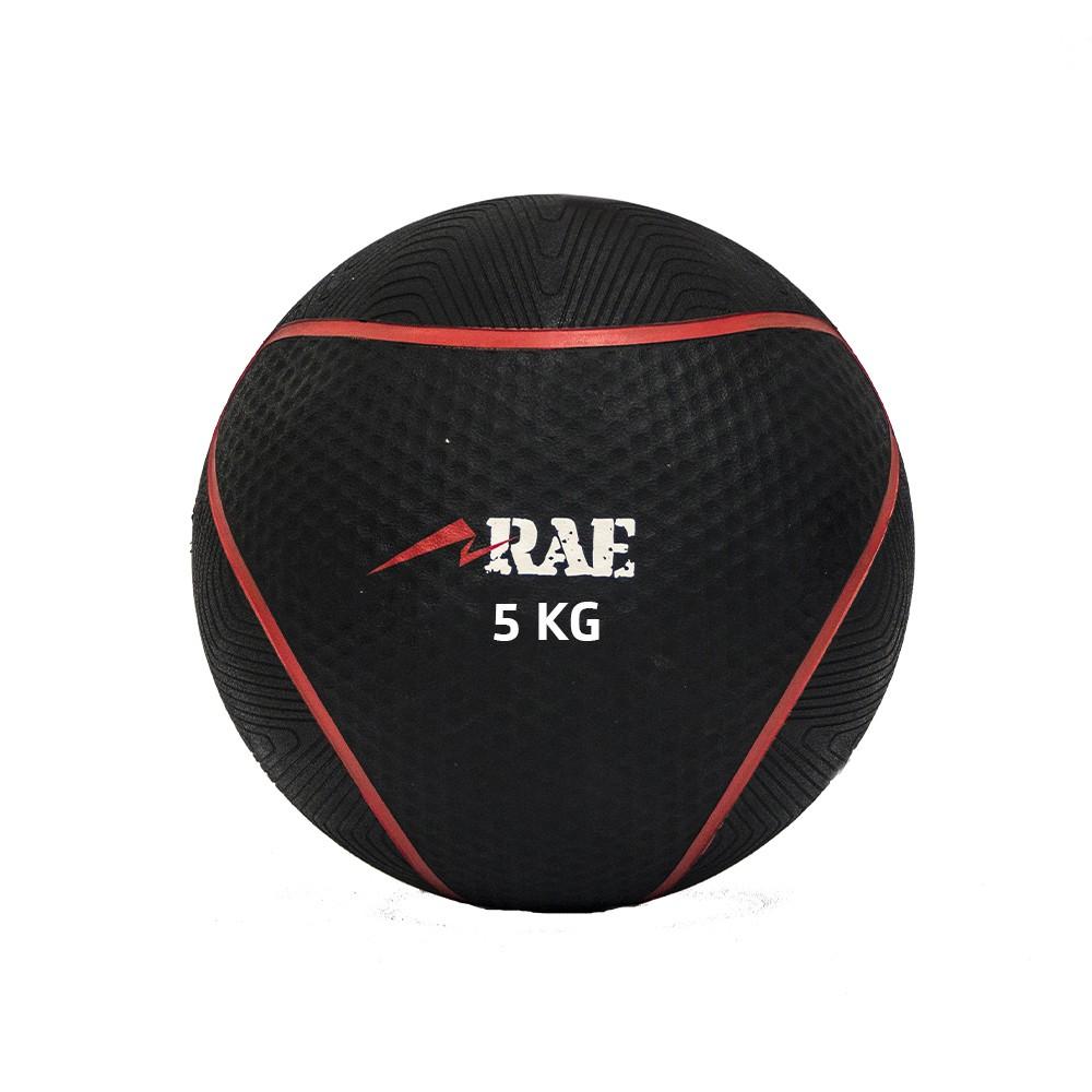 Bola Emborrachada para Treinamento Funcional - Medicine Ball   5 kg - Rae Fitness