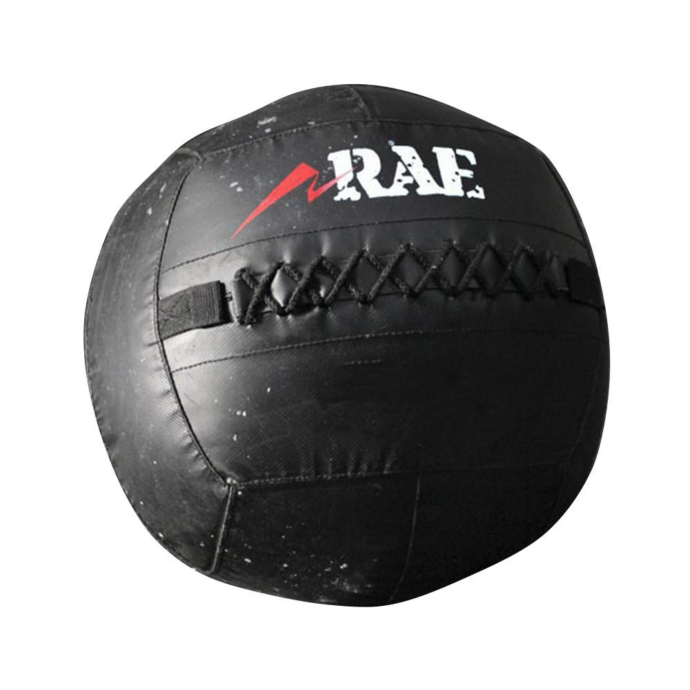 Bola para Treinamento Funcional - Med Ball - Wall Ball de Couro Reforçado 24 lb - Rae Fitness