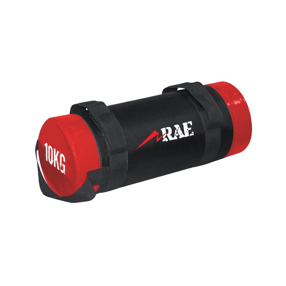 Bolsa de Peso para Treinamento Funcional - Power Bag de Couro Reforçado 10 kg - Rae Fitness