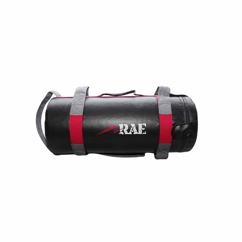 Bolsa de Peso para Treinamento Funcional - Power Bag de Couro Reforçado 15 kg - Rae Fitness
