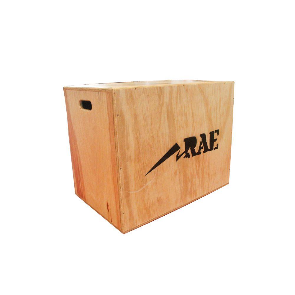 Caixa de Salto Grande de Madeira Naval Reforçada - Box Jump - Rae Fitness