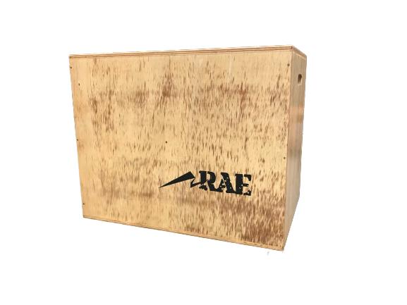 Caixa de Salto Grande de Madeira Naval Reforçada - Box Jump Military - Rae Fitness