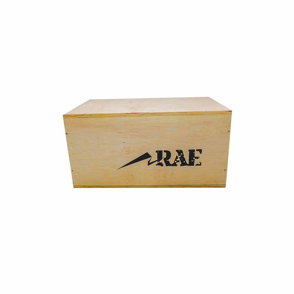 Caixa de Salto Média de Madeira Naval Reforçada - Box Jump - Rae Fitness