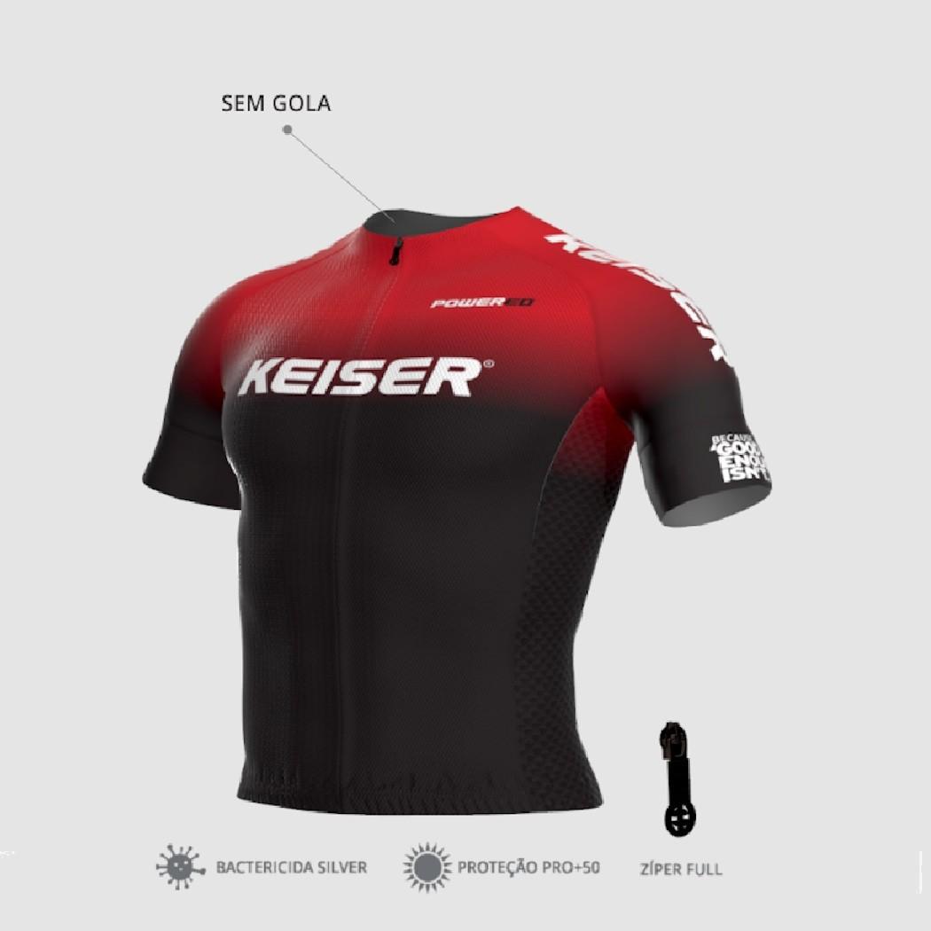 Camisa de Ciclismo KEISER