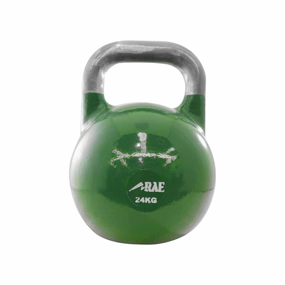 Kettlebell de Competição de Ferro Colorido para Treinamento Funcional 24 kg - Rae Fitness