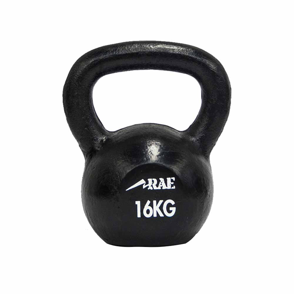 Kettlebell de Ferro Polido para Treinamento Funcional 16 kg - Rae Fitness