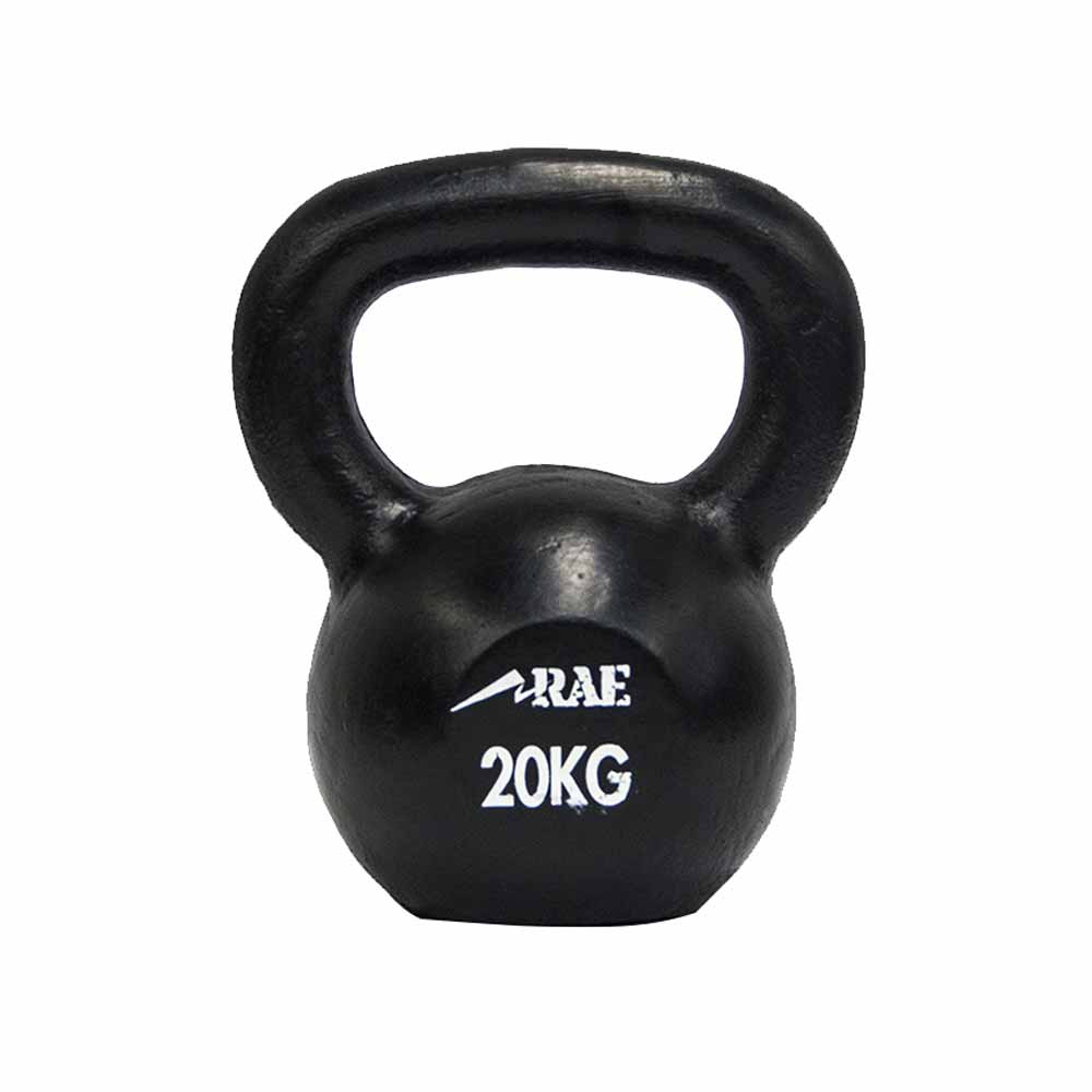 Kettlebell de Ferro Polido para Treinamento Funcional 20 kg - Rae Fitness