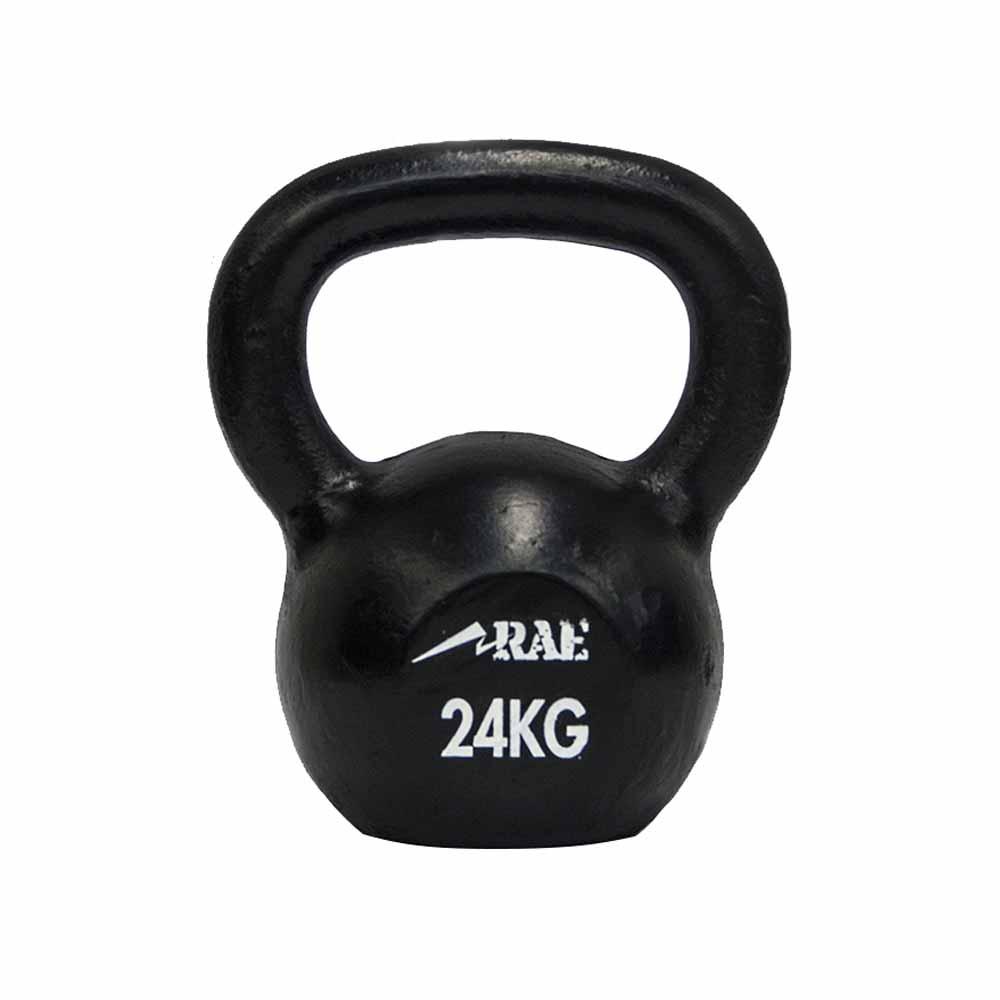 Kettlebell de Ferro Polido para Treinamento Funcional 24 kg - Rae Fitness