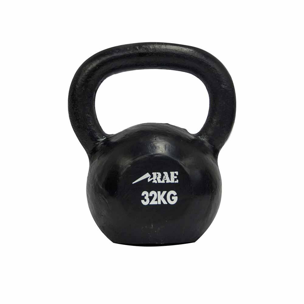 Kettlebell de Ferro Polido para Treinamento Funcional 32 kg - Rae Fitness