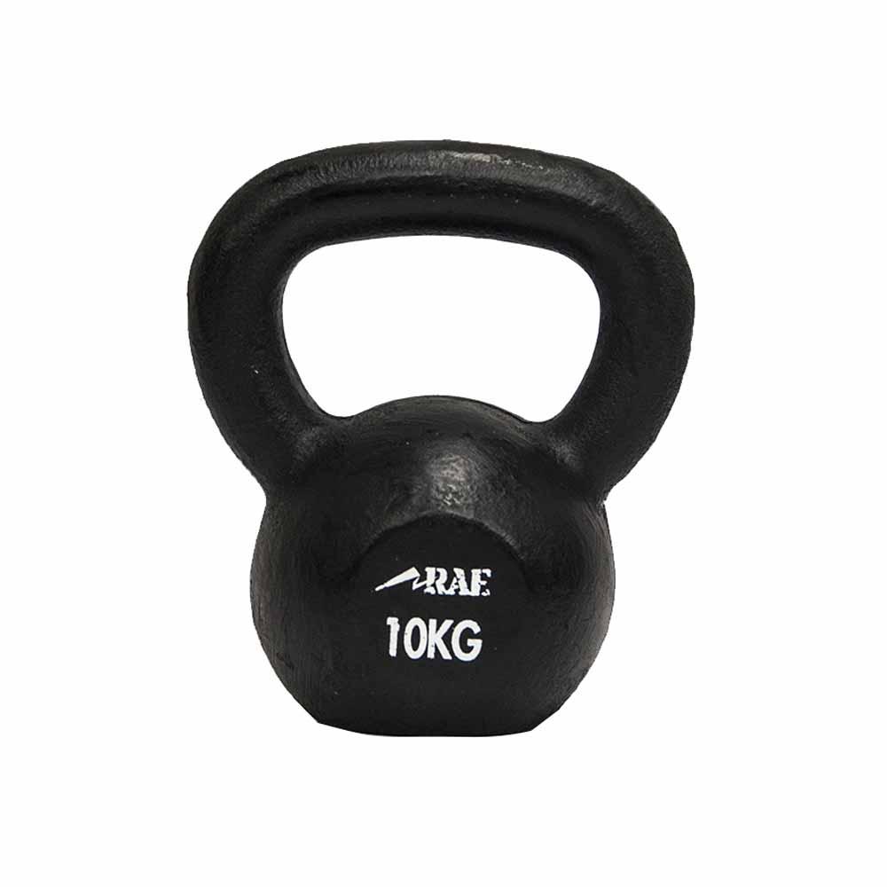 Kettlebell de Ferro Polido para Treinamento Funcional - Rae Fitness