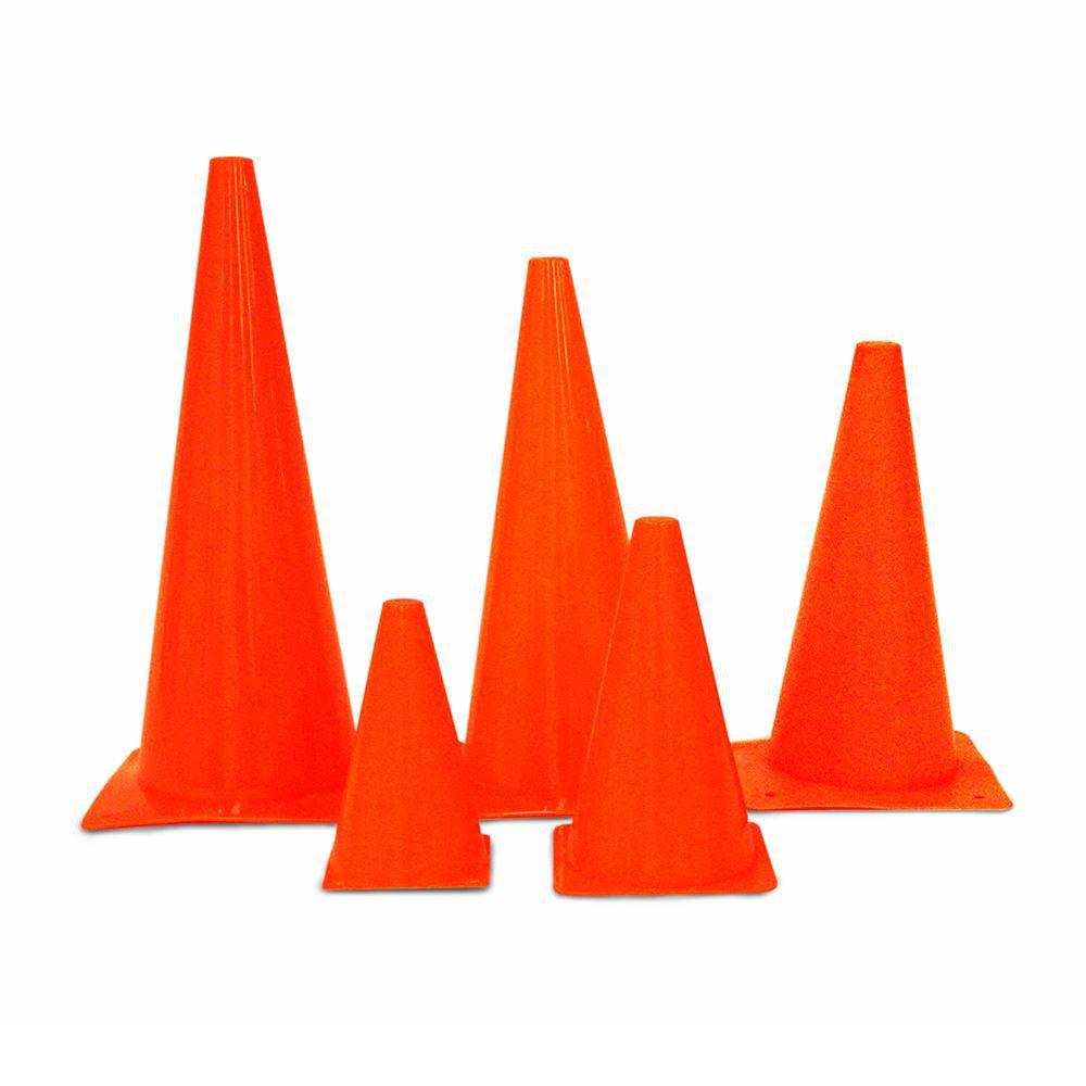 Kit com 5 Cones para Treinos de Agilidade - Rae Fitness