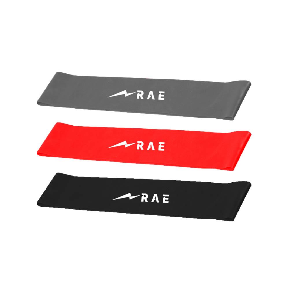 Kit de Mini Band com 3 Intensidades - Rae Fitness