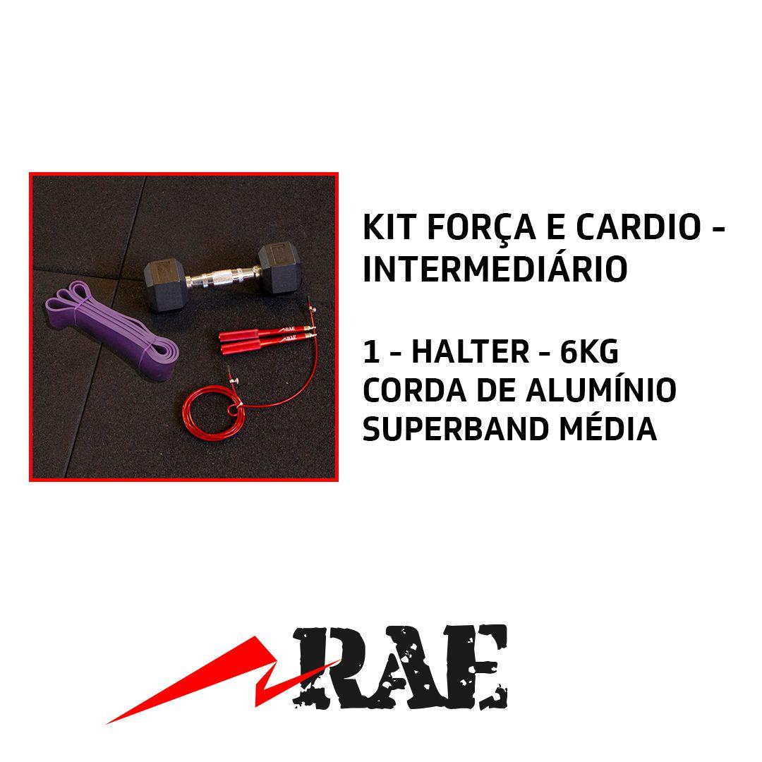KIT FORÇA E CARDIO -  INTERMEDIÁRIO