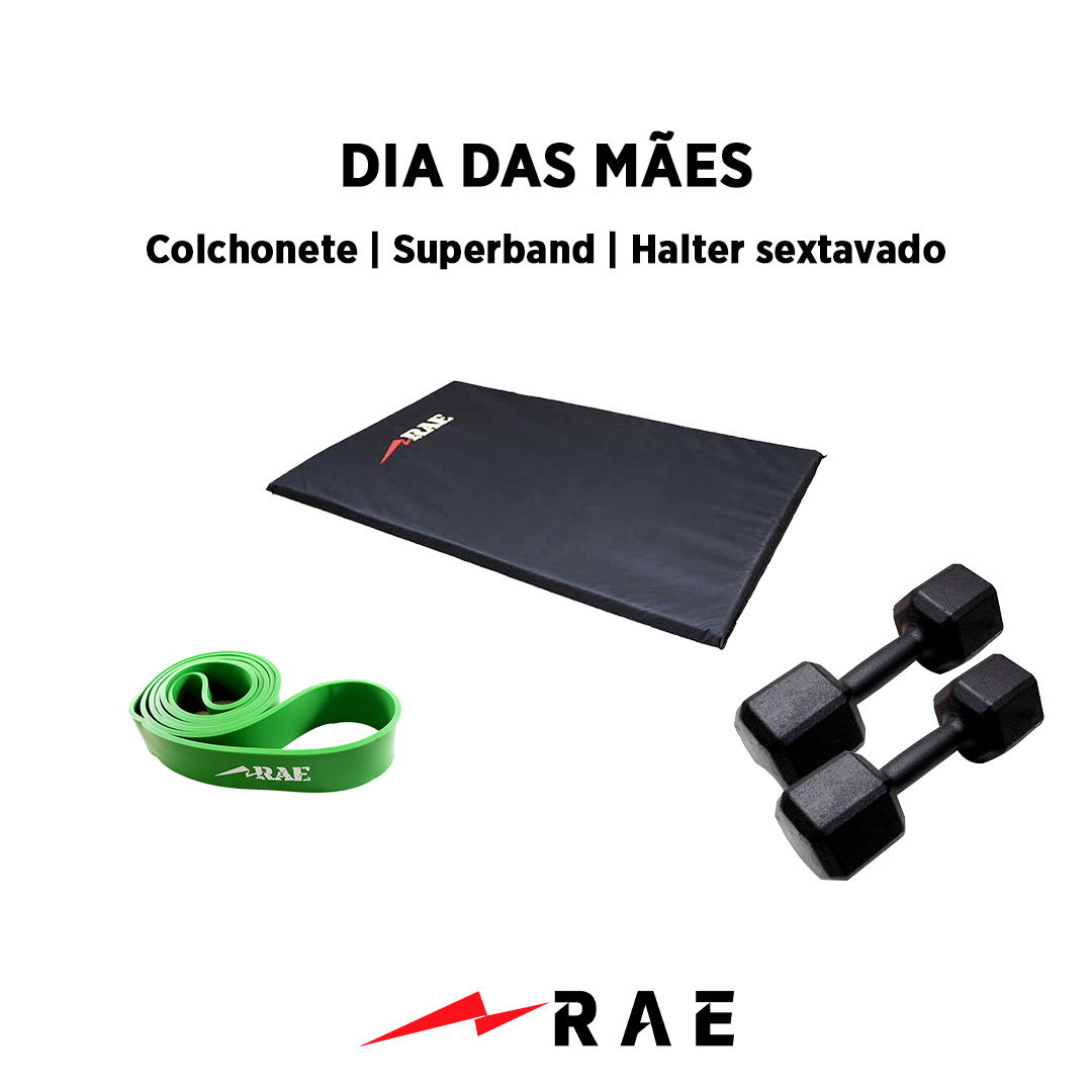Kit para Dia das Mães - Funcional 1 - Rae Fitness