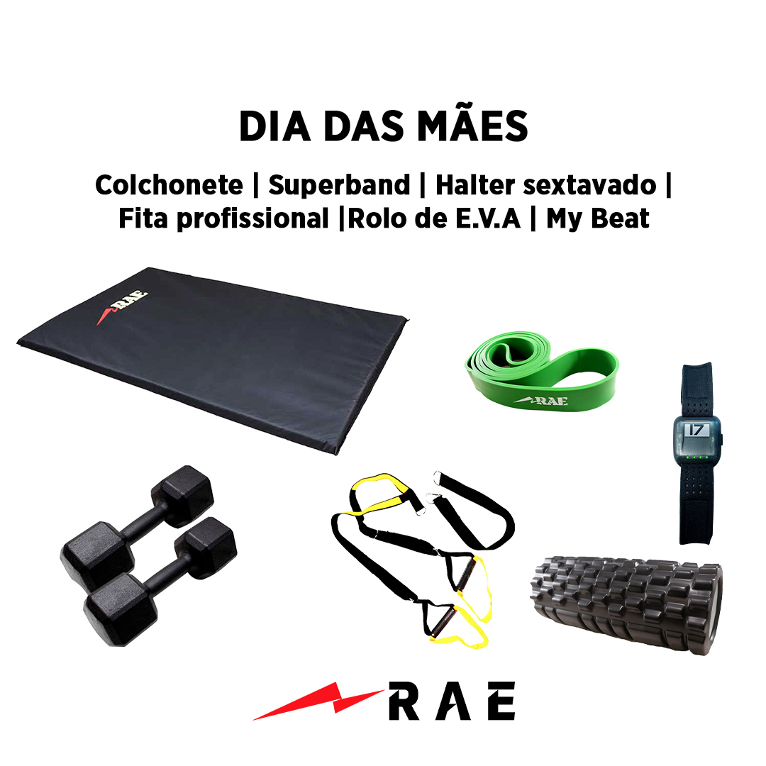Kit para Dia das Mães - Funcional 3 - Rae Fitness