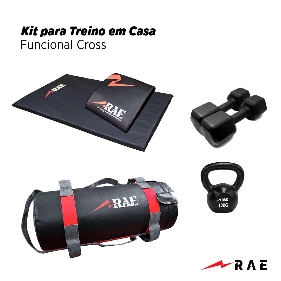 Kit para Treino em Casa - Funcional Cross - Rae Fitness